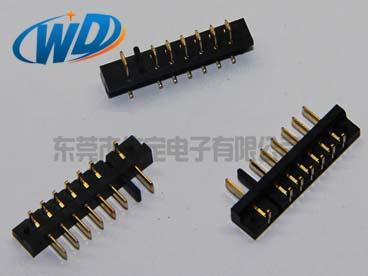 沉板式 2.50mm 间距 5 6 7 8 9PIN笔记本电池座连接器