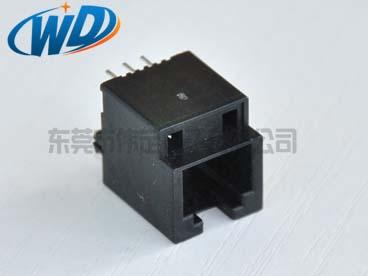 东莞电话接口工厂 顶部插入式RJ12 6P6C电话母头