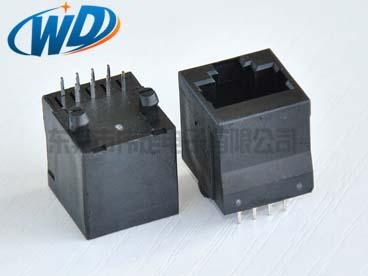 高品质 顶部垂直插入型 网络接插件 8针扁针