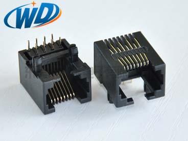杭州90度 侧面插RJ45 8针 网线插口