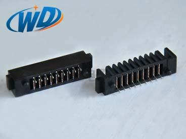 广东电池座厂家 2.0mm 间距9P刀片式电池连接器母座