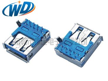 常规宽USB 3.0连接器 A母插座 A TYPE接头