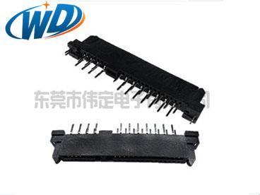 180度7+15 22PIN SATA连接器 公母座硬盘接口