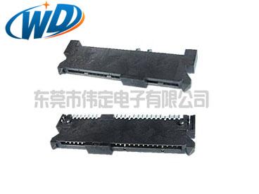 7+15 22PIN  硬盘接口SATA连接器 SMT 接口