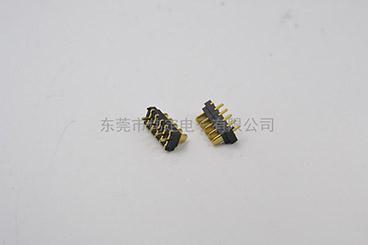 2.0mm 5PIN 刀片电池座连接器