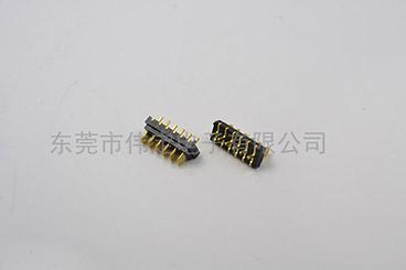 2.0mm 刀片式6PIN电池连接器