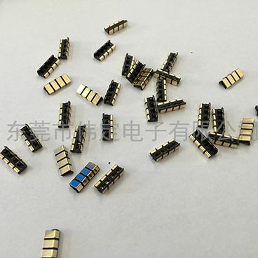 4PIN 2.5mm 间距电池连接器金手指 电池触点