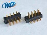2.50 PH 90度插电池接口 4PIN铡刀型