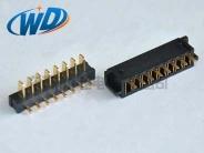 2.50mm PH 刀片式8PIN电池座接口  公母对插
