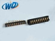 2.50mm pitch 10PIN 刀片型电池座连接器 公母配套 灯饰LED接口