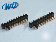 长沙2.50mm 间距 9PIN刀片式电池端子 立式带防误插位