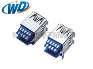 南京USB 3.0 AF 双层成型焊线 线材专用 A母头接口