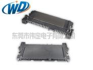 超薄超宽SATA 7+15 22PIN特殊硬盘接口 连接器SMT