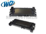 超宽款SATA 7+15带屏蔽壳 硬盘接口母座SMT