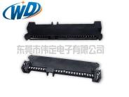 贴片7+15 22PIN HDD连接器SATA SMT接口母座高5.0mm