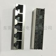 52  立式 1x5带屏蔽rj45连接器