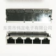 59 1X5带屏蔽壳RJ45接口 路由器网口