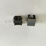 沉板 SMT电话接口RJ11 6P2C带屏蔽