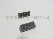 5.0mm 间距5PIN 刀片式电池连接器 公母配套